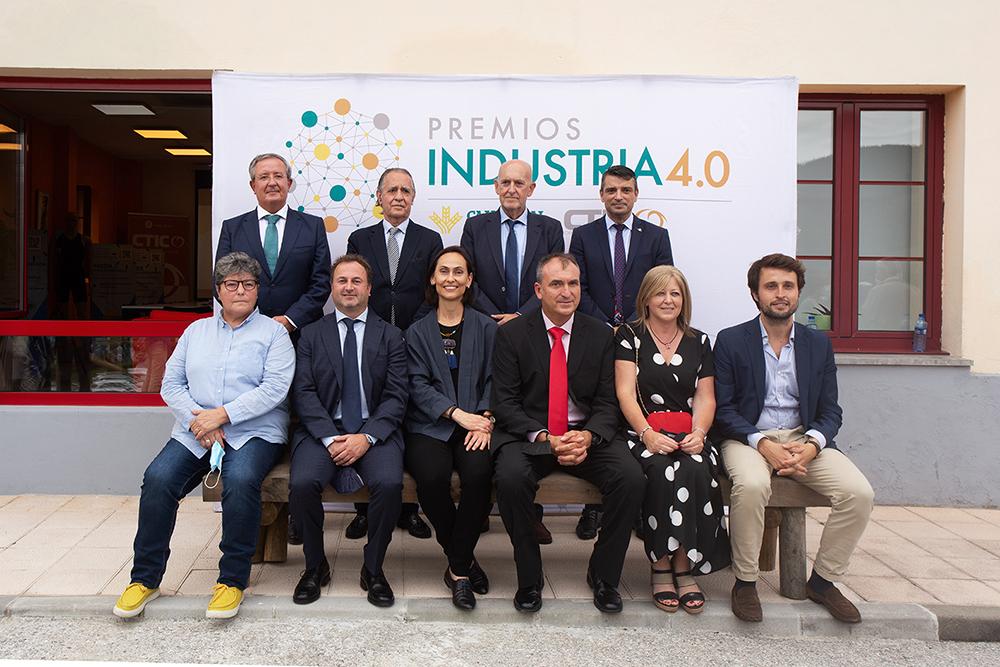 premios industria 40 2020 CTIC y Caja Rural de Asturias